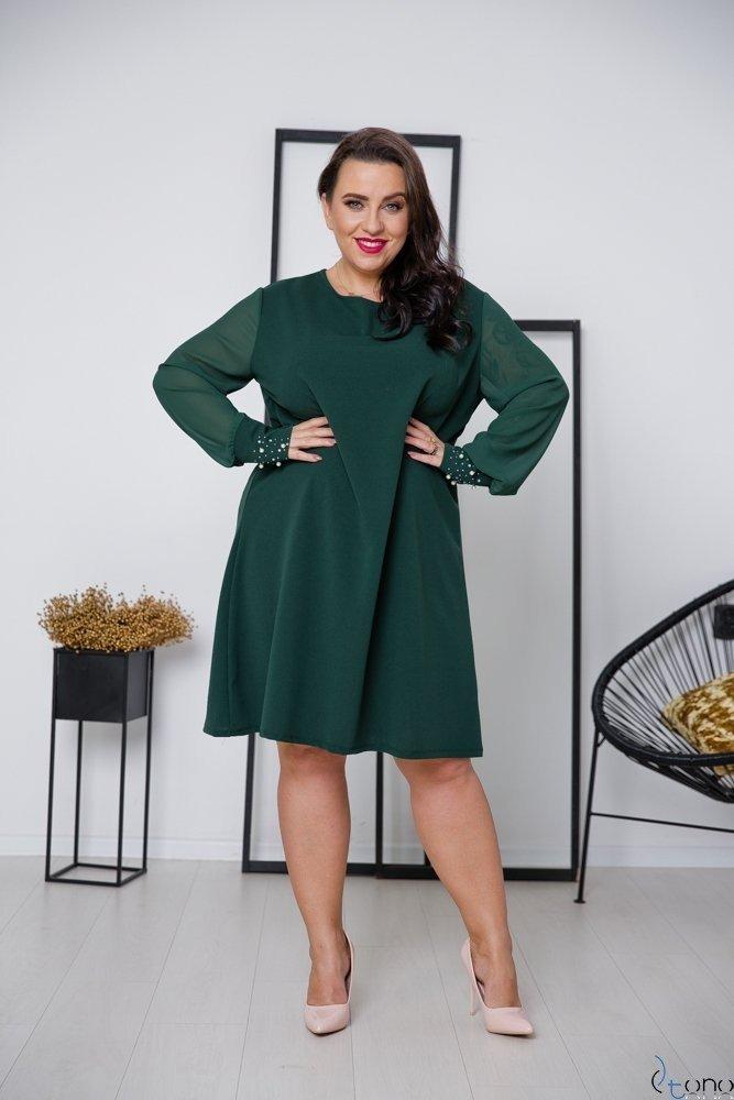 Zielona Sukienka DEVELEY Plus Size