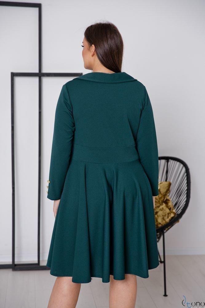 Zielona Sukienka RECIFE Plus Size