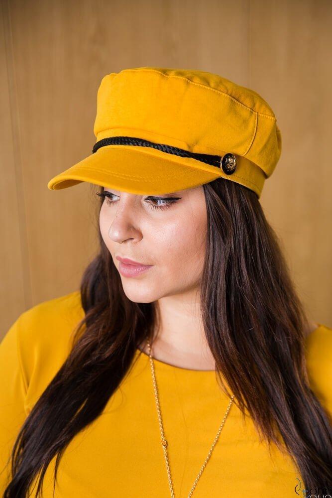 Żółta Czapka BOSMANN Kaszkiet